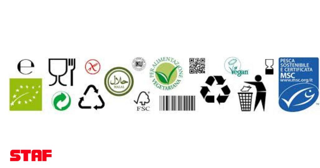 Etichettatura sostenibile